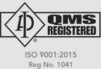 qms registered iso 9001 2015